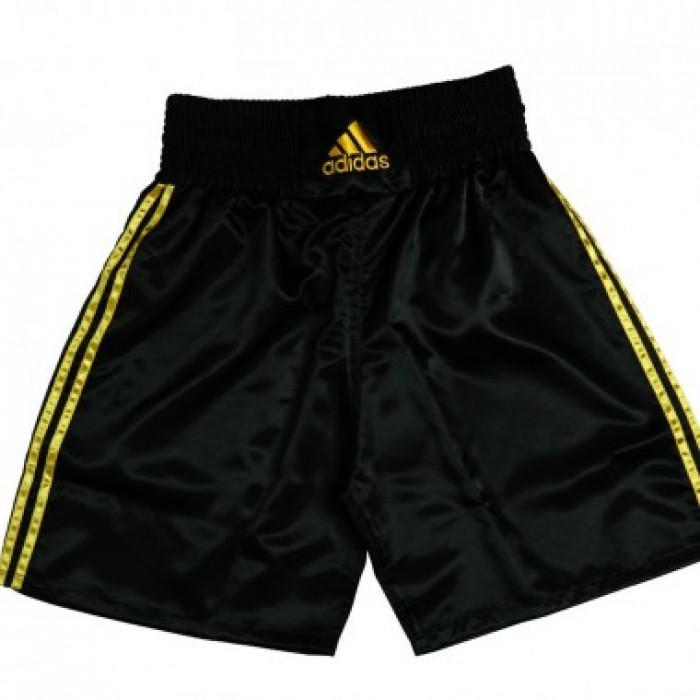 Шорты боксерские Adidas Multi Black Gold р. S